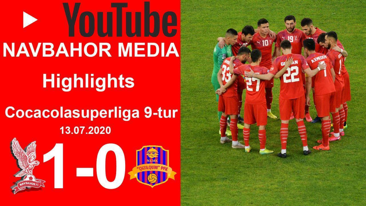 Coca Cola Superliga. 9-tur НAВБAҲОР - ҚИЗИЛҚУМ 1:0